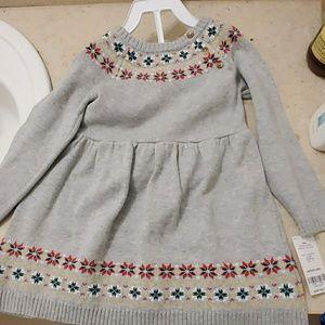 Infant Girls Sweater Dress Set